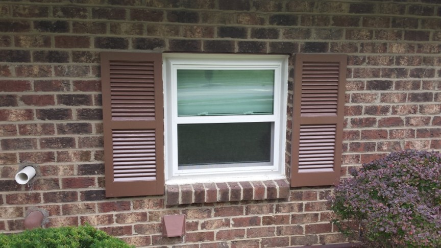 Installing shutters on my own home